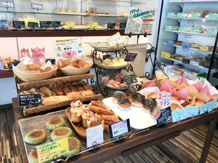 マルルー都島区店内のハンバーガーコーナー