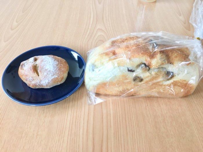 都島区三好パンのハード系パンと食パン