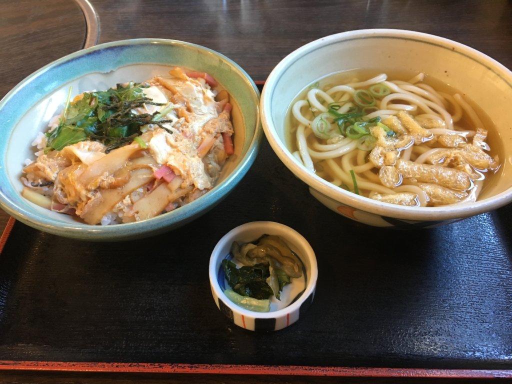 今日亭都島店の木の葉丼定食740円