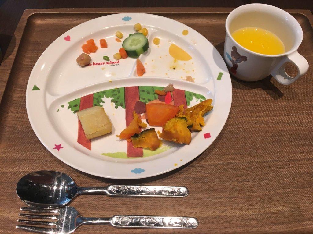 ヴェルデカッサの子供食器
