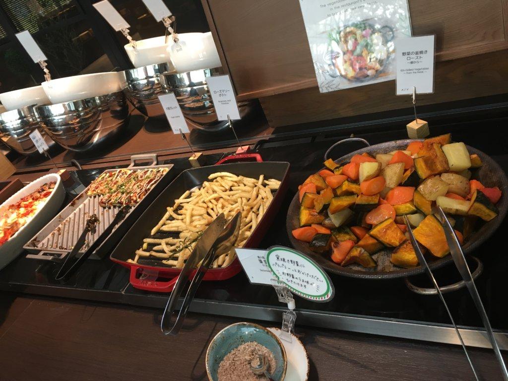 ヴェルカッサの野菜とポテト