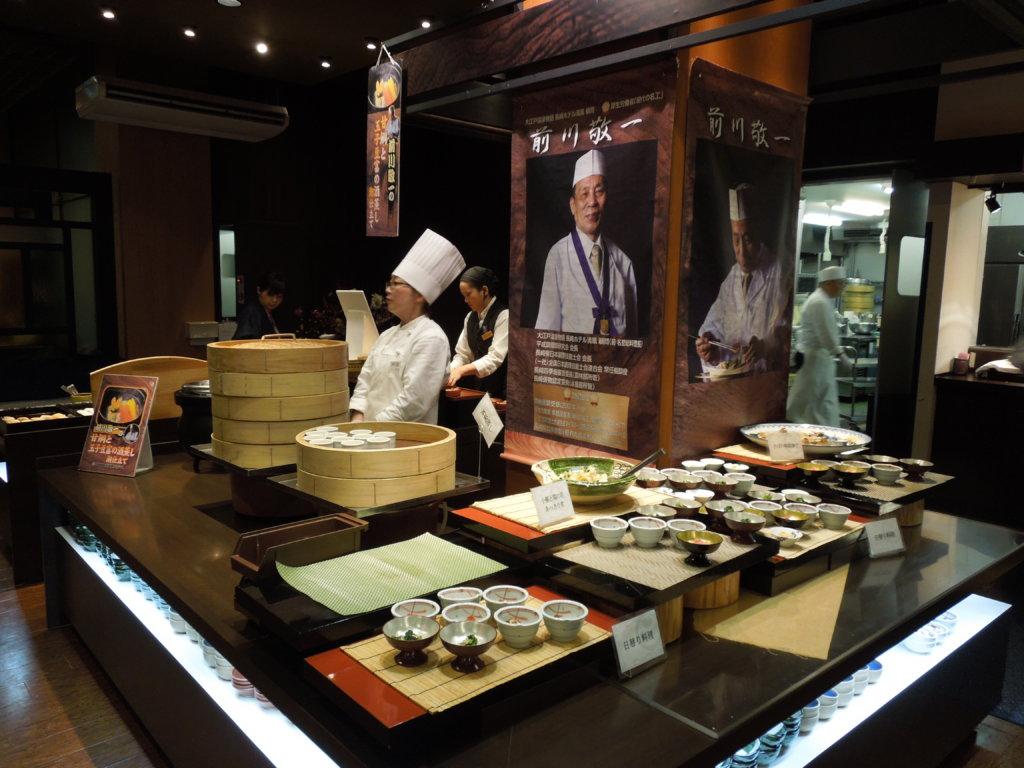 大江戸温泉物語 箕面観光ホテルのバイキング和食