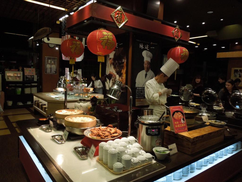 大江戸温泉物語 箕面観光ホテルの麻婆豆腐