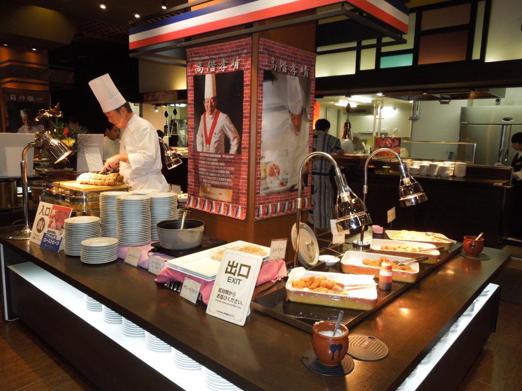 大江戸温泉物語 箕面観光ホテルのローストビーフ