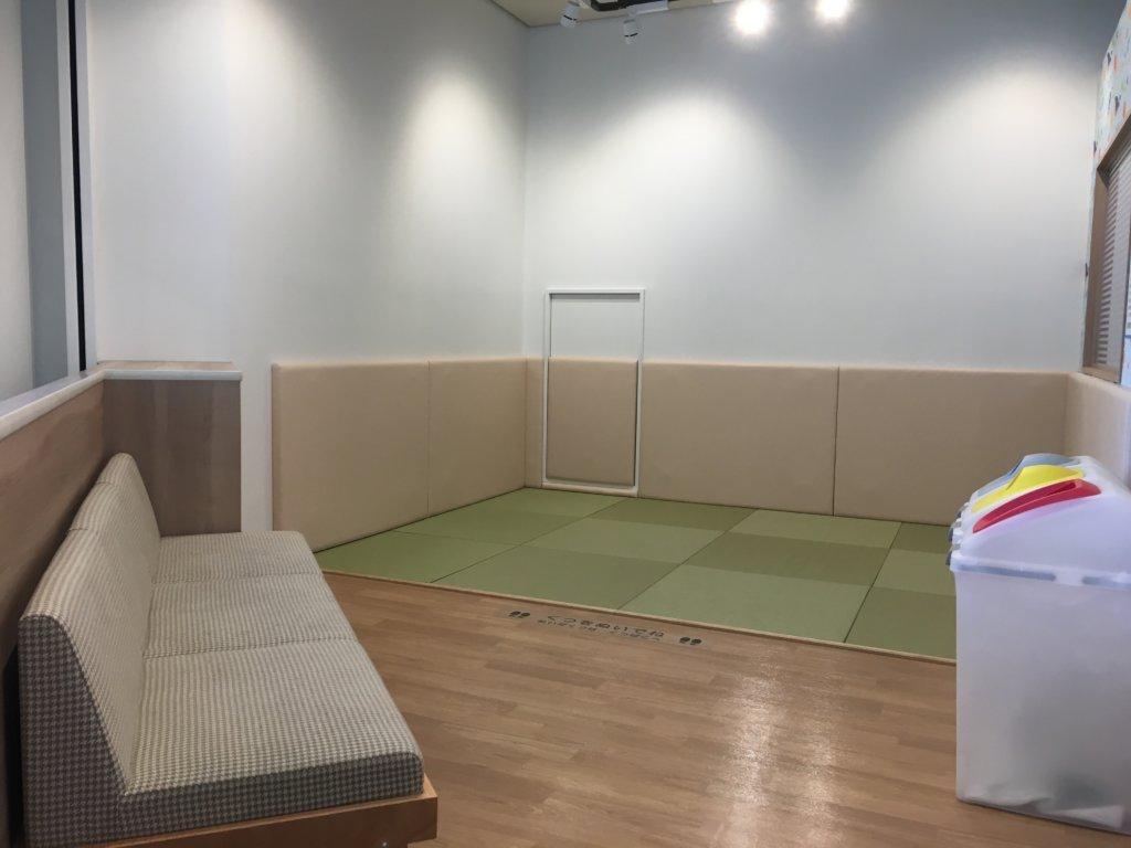大阪南港ATCファミリールーム0~2歳の遊び場