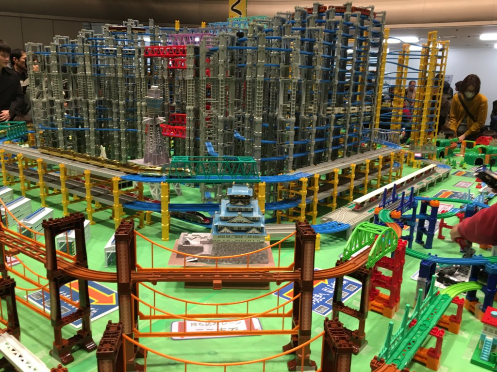 鉄道博2019大阪プラレール巨大模型