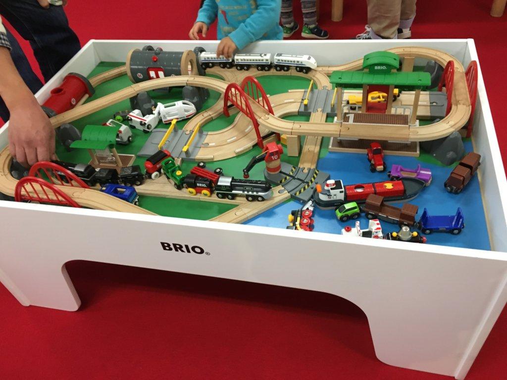 鉄道博2019大阪のBRIOおもちゃ