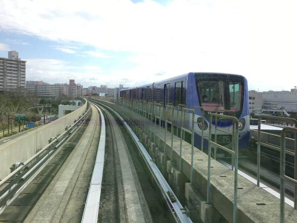 南港ポートタウン線(ニュートラム)青色