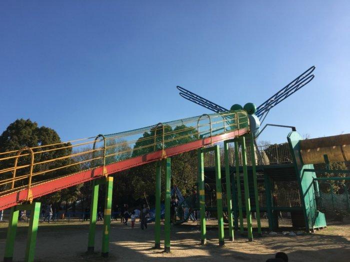 蜻蛉池公園、蜻蛉の形の遊具