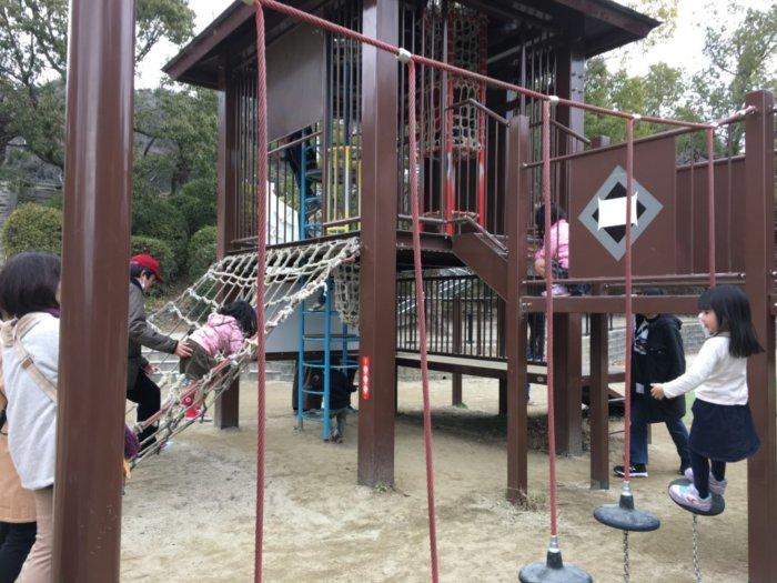五月山公園の遊具