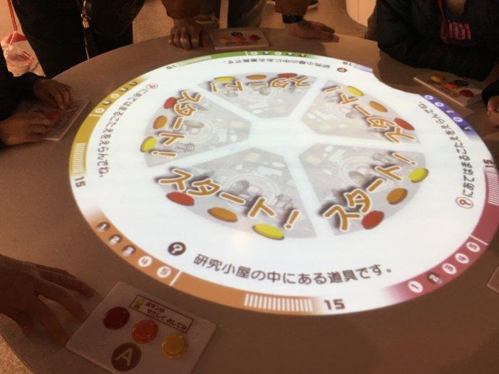 カップヌードルミュージアム大阪池田、のクイズ画面