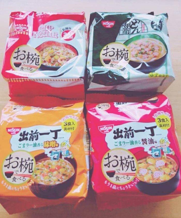 カップヌードルミュージアム大阪池田のお土産、お椀で食べるラーメンセット