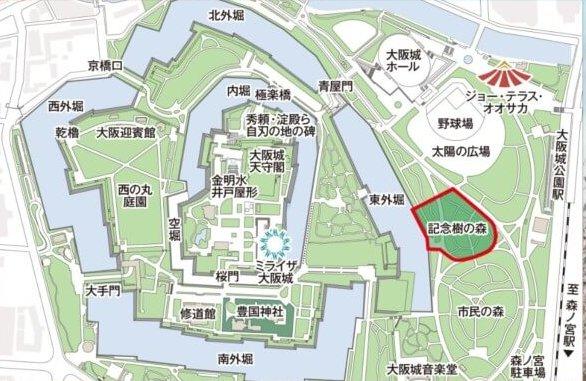 大阪城公園バーベキューエリア