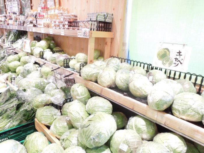 よってっててんしば店の野菜
