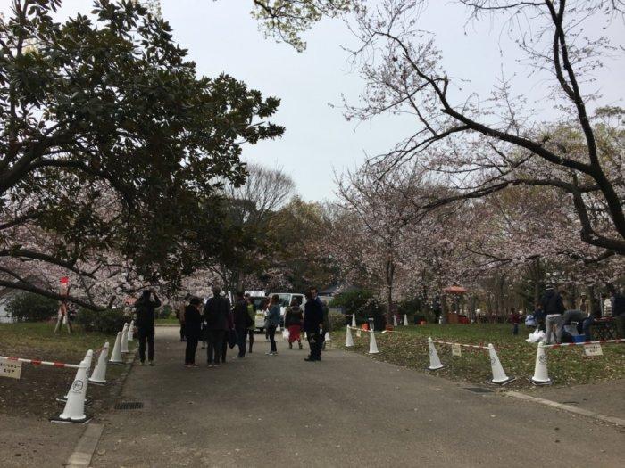 大阪城バーベキュー(和ーべきゅう)入り口