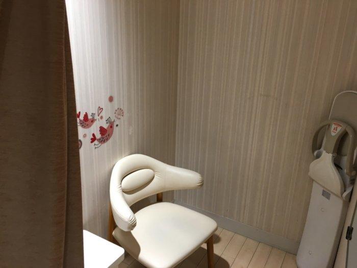大丸梅田10階ベビーサロン、授乳室は5ヵ所