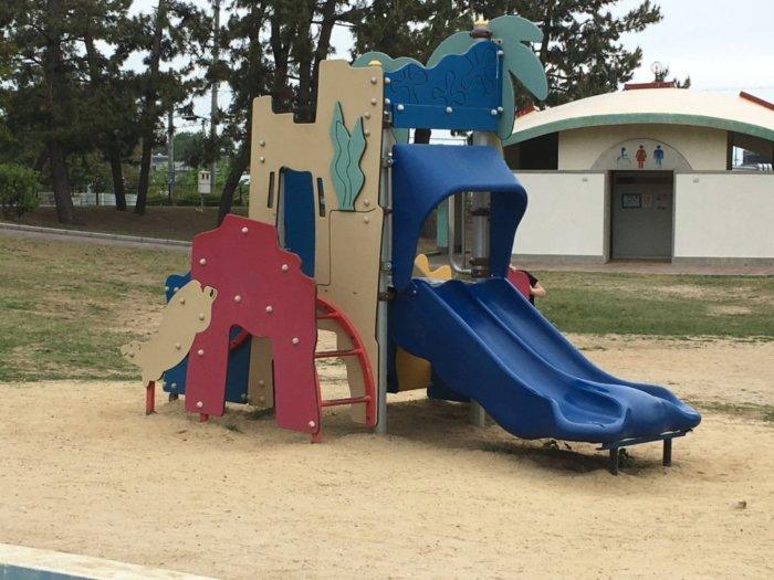 二色の浜公園遊具小さい子供向け