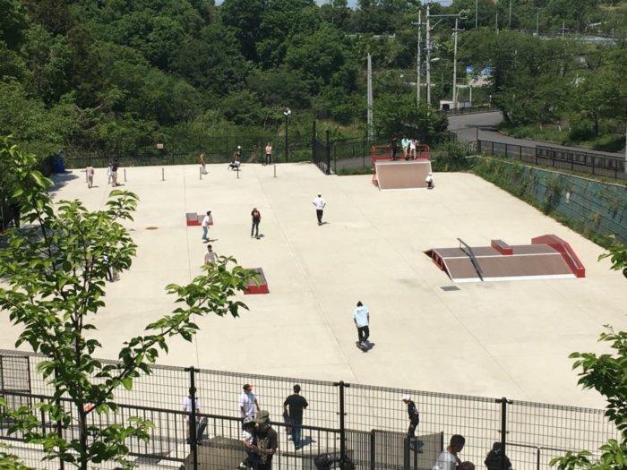 永楽ゆめの森公園スケートボード広場