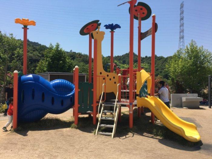 永楽ゆめの森公園3~6歳用遊具