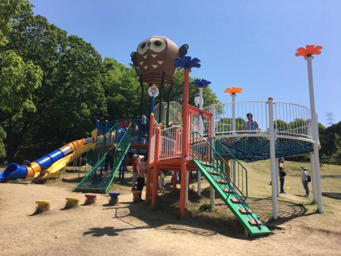 永楽ゆめの森公園6~12歳用大型遊具