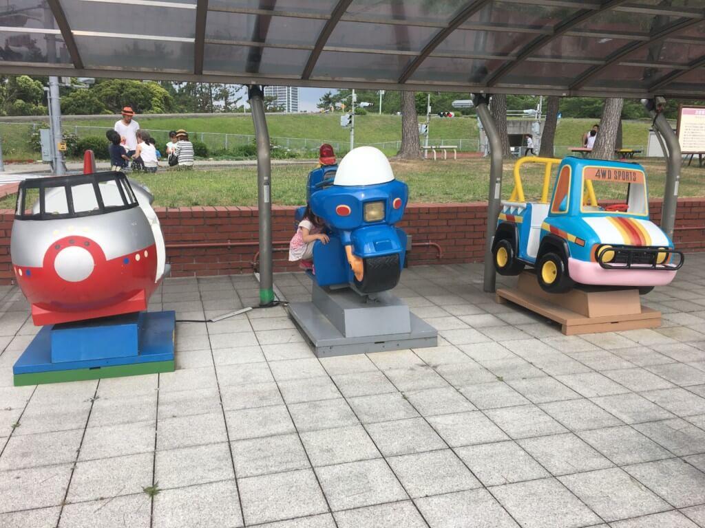 浜寺公園 交通遊園の乗り物