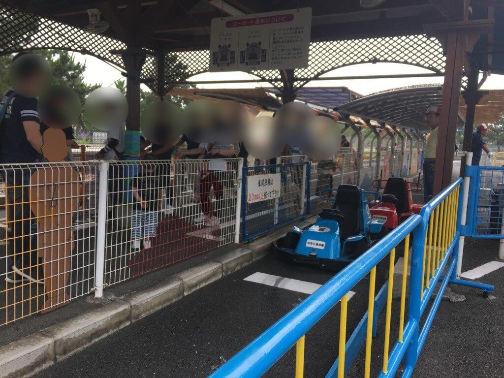 浜寺公園 交通遊園のゴーカート