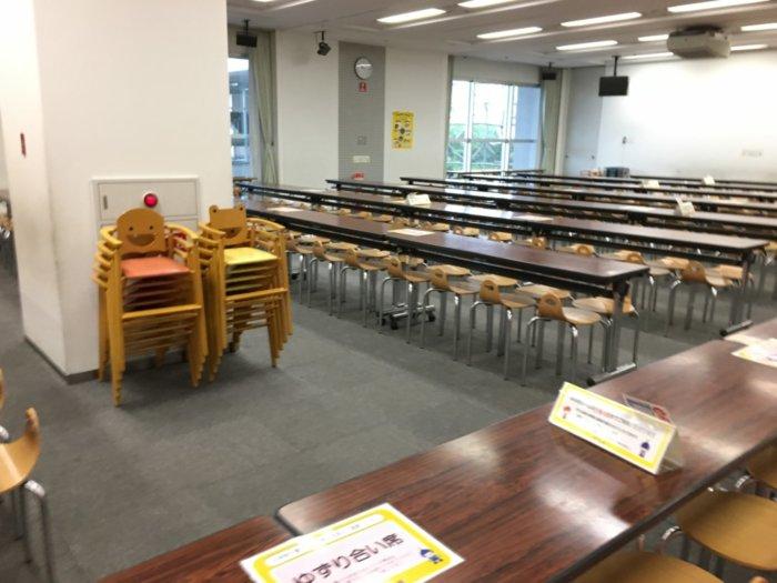 キッズプラザ大阪飲食スペース