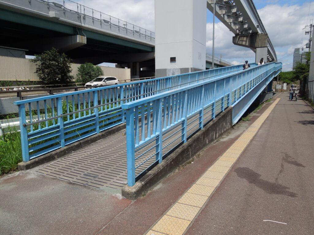 鳥飼車両基地から新幹線公園への行き方