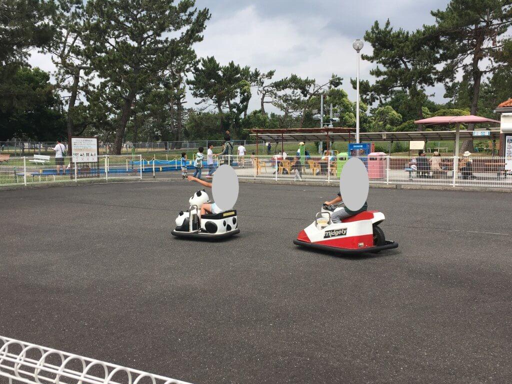 浜寺公園 交通遊園のバッテリーカー