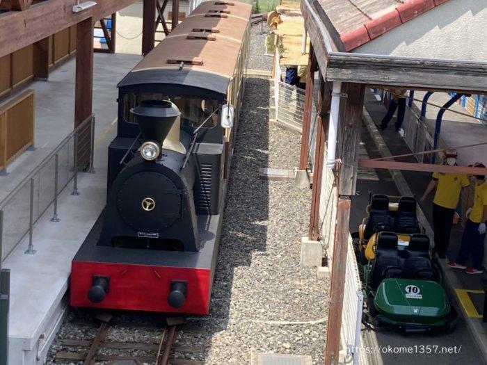 浜寺公園交通遊園の汽車