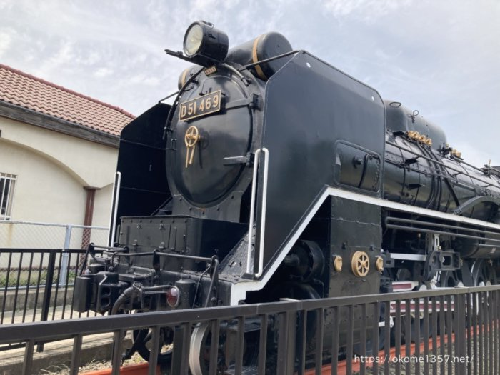 浜寺公園 交通遊園の機関車