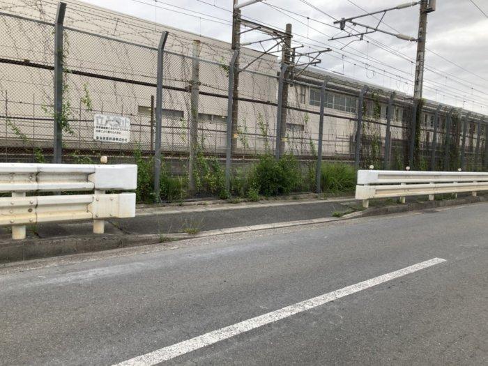 鳥飼車両基地の新幹線が近くで見れる穴場