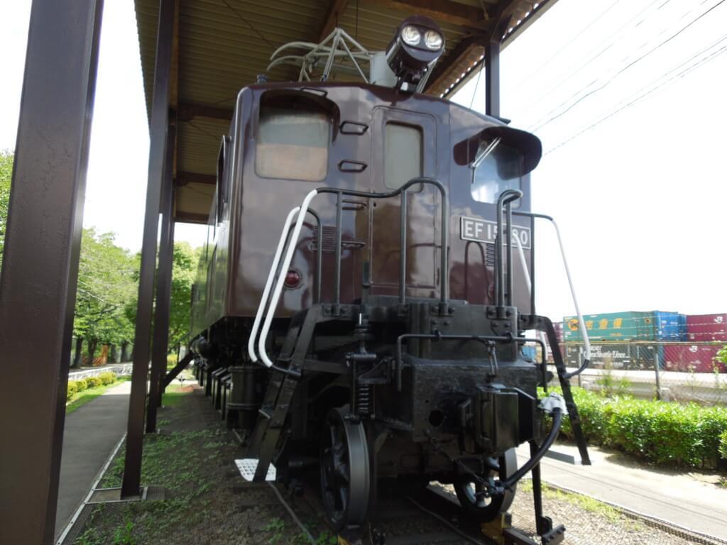 新幹線公園 電気機関車