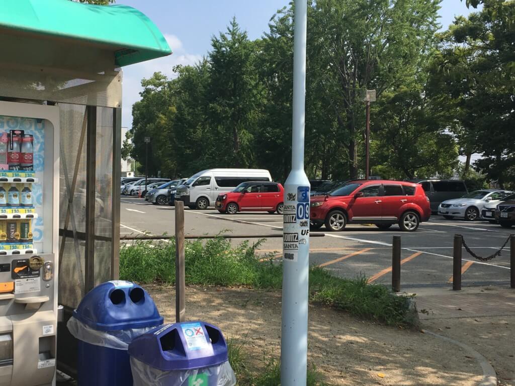 大阪城公園遊具子供天守閣 最寄りの森ノ宮駐車場