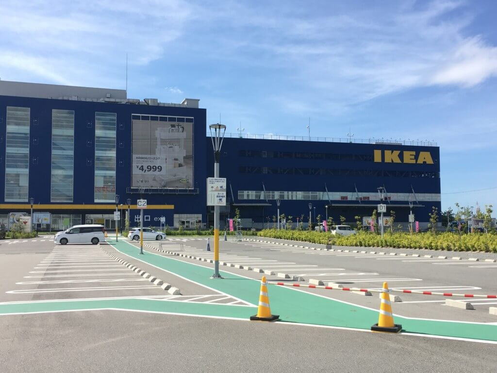 IKEA鶴浜の外観