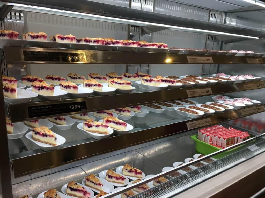 IKEAレストランの料理