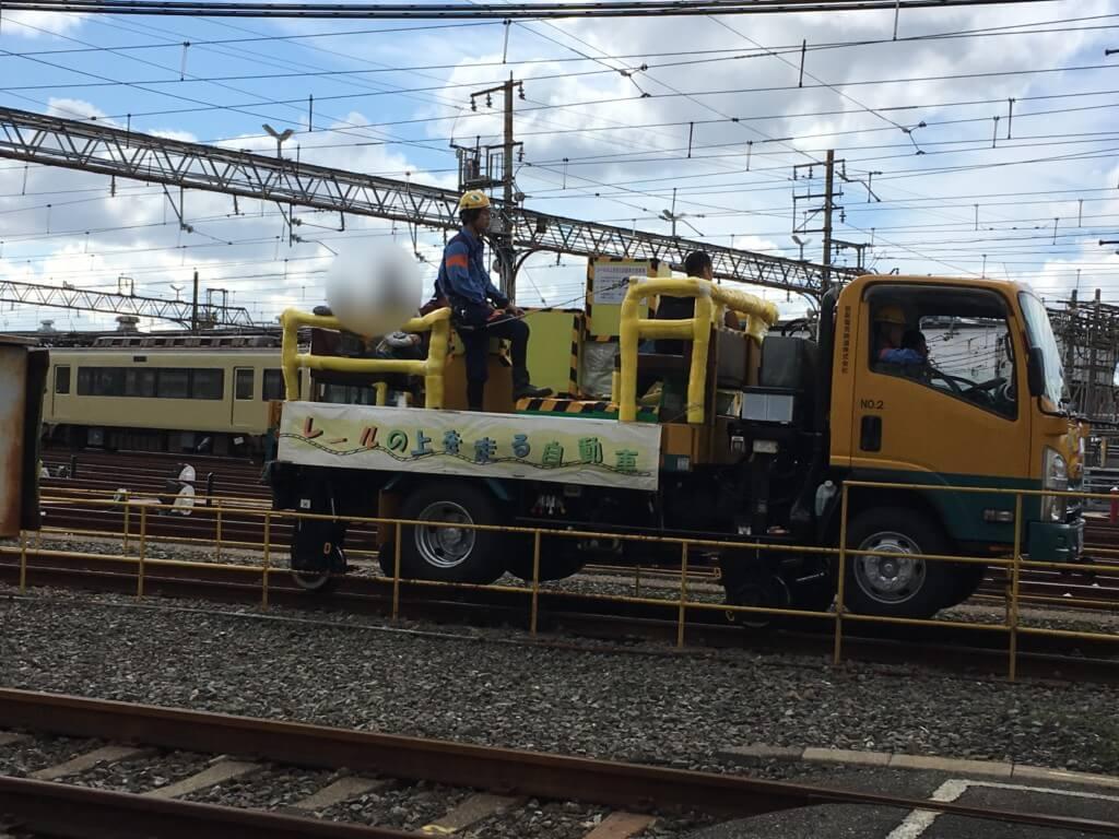 京阪ファミリーレールフェア2019の整備車両