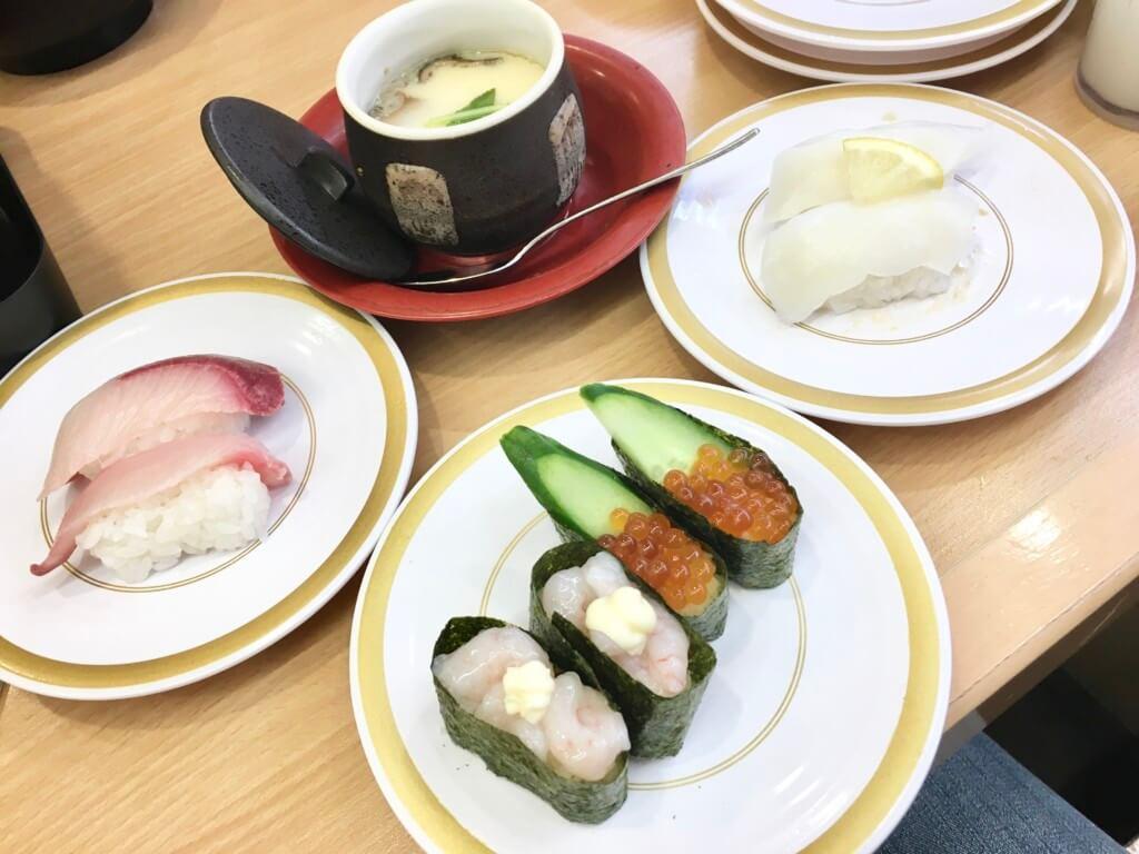 かっぱ寿司食べ放題「食べホー」レギュラーメニュー