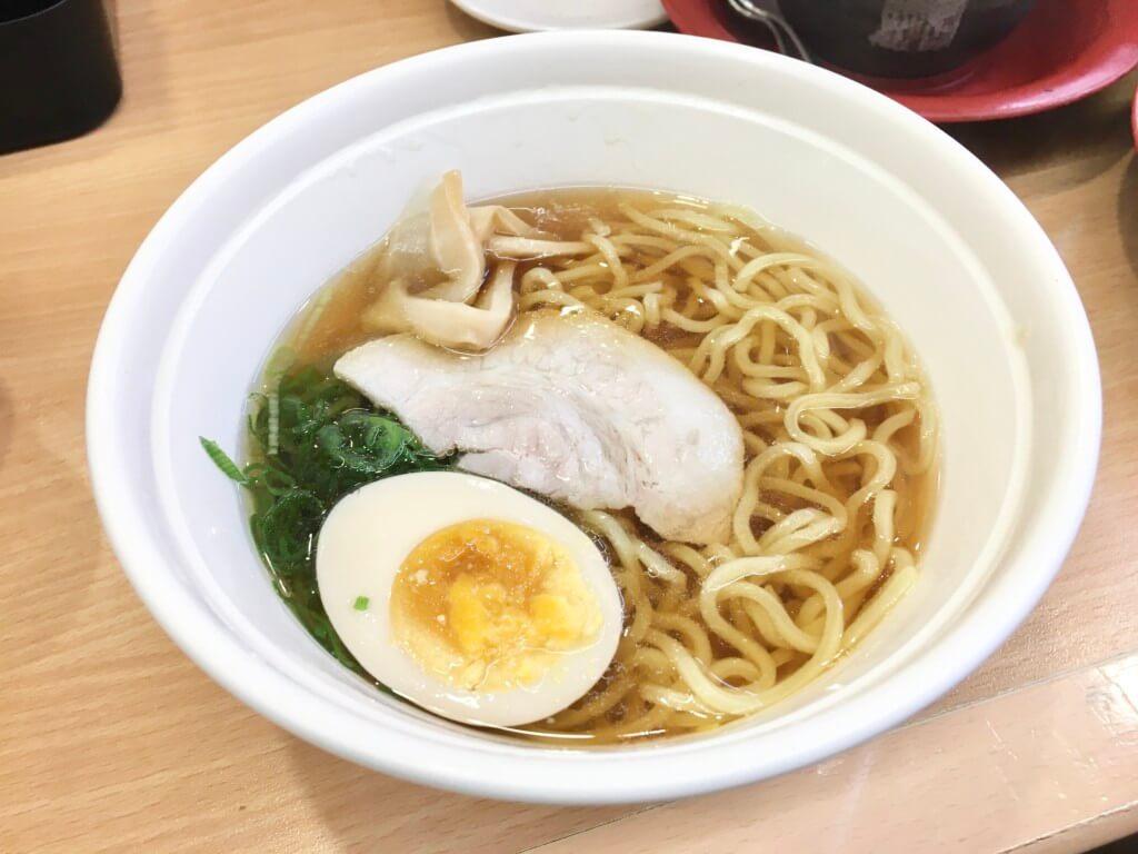 かっぱ寿司食べ放題「食べホー」レギュラーメニューラーメン