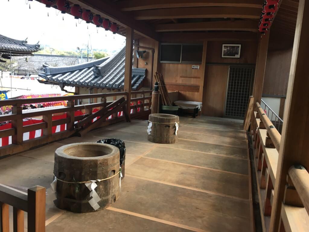 水間寺の千本餅つき
