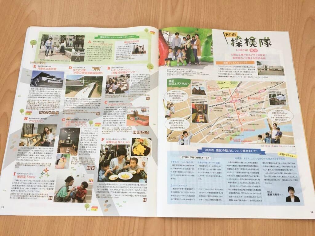 JR西日本情報誌「とことことん」の内容