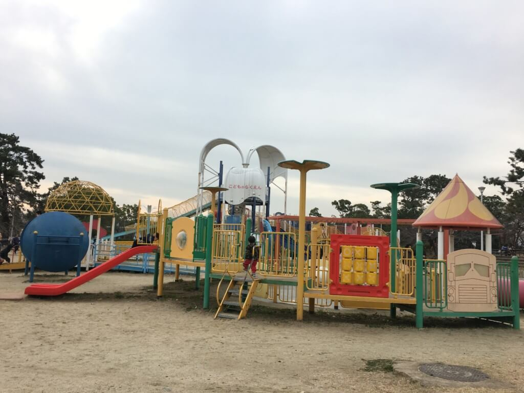 服部緑地公園 こどもの楽園の遊具