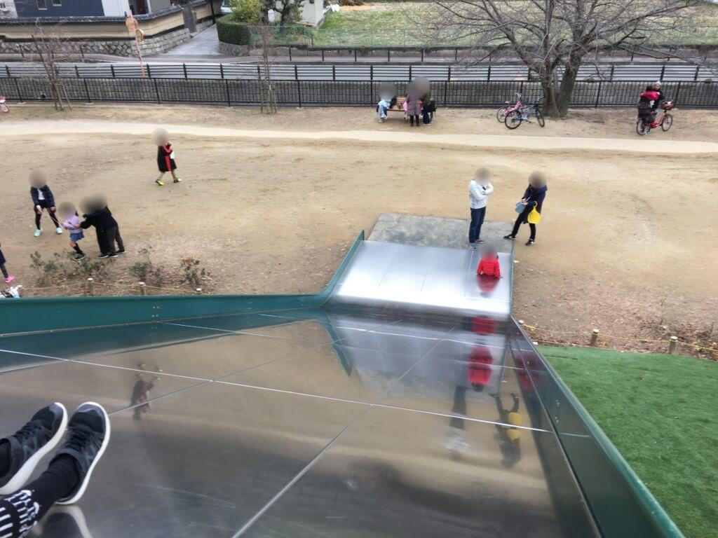 服部緑地公園いなり山児童遊技場の遊具