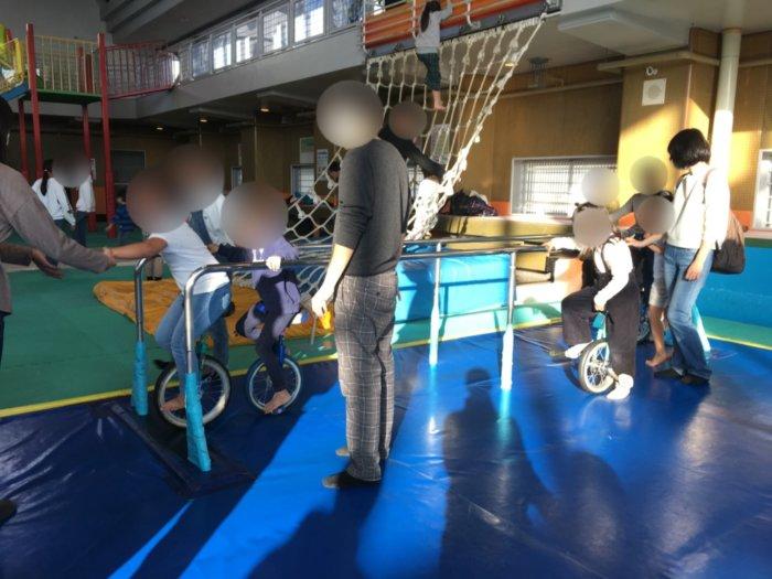ドリーム21のびのび広場の遊具