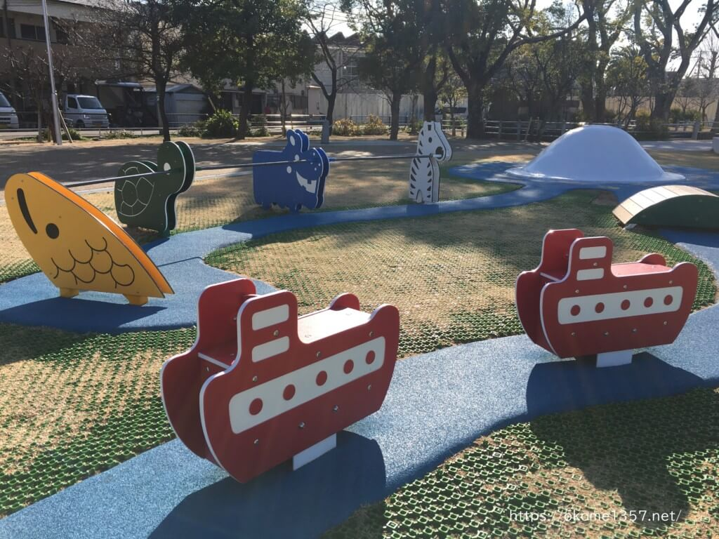 大枝公園の遊具