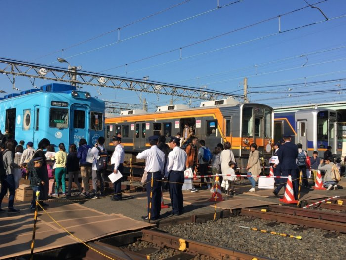 大阪の乗り物イベント南海電車まつり