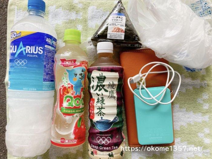 USJ(ユニバ)の手荷物検査で持ち込むお菓子やペットボトル