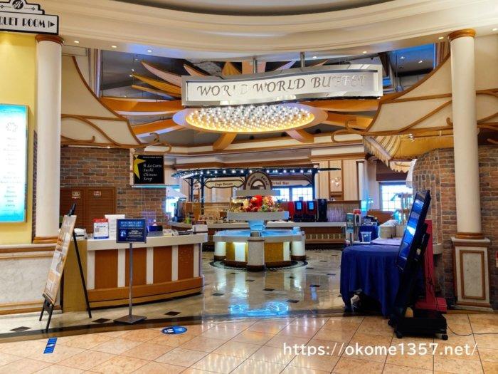 USJホテル京阪ユニバーサルシティのバイキング