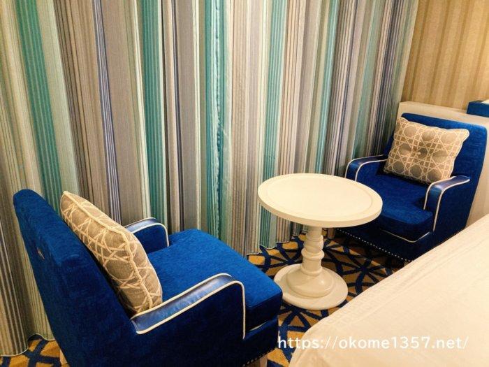 ホテルユニバーサルポートの客室