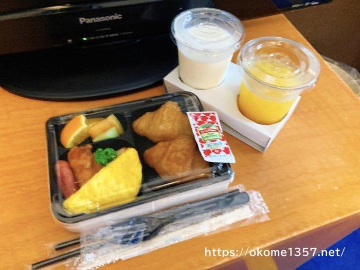 USJホテル京阪ユニバーサルシティの朝食
